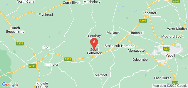 Google static map for South Petherton
