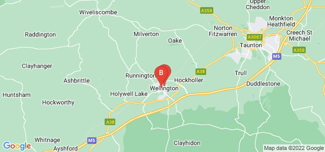 Google static map for Wellington