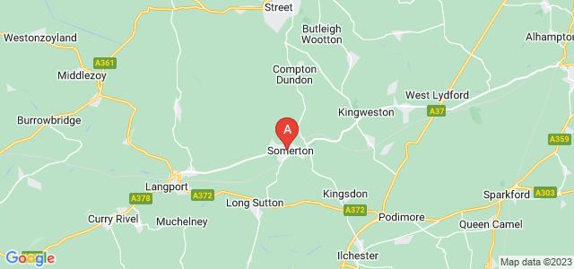 Google static map for Somerton