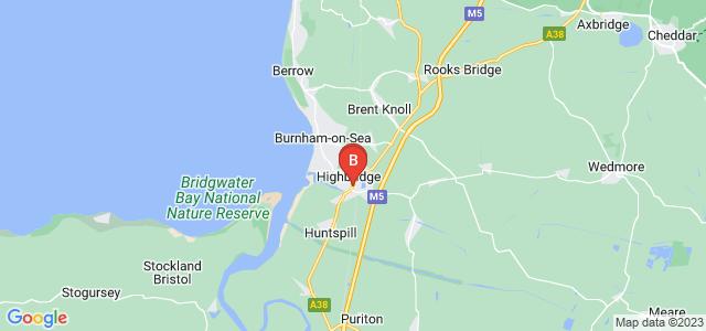 Google static map for Highbridge