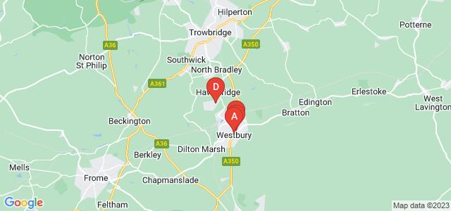 Google static map for Westbury