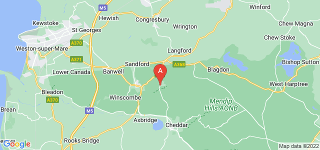 Google static map for Winscombe