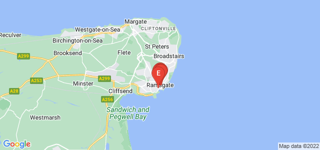 Google static map for Ramsgate