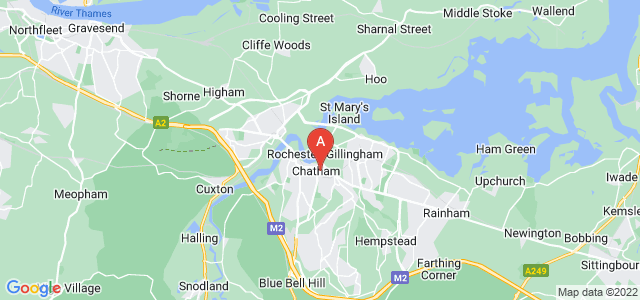 Google static map for Chatham