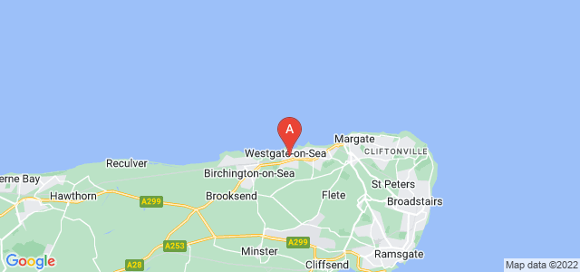 Google static map for Westgate