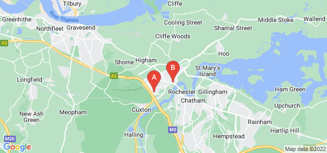 Google static map for Strood