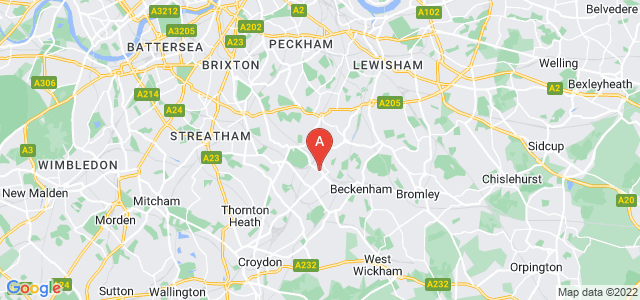 Google static map for Penge