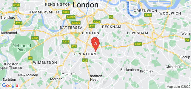 Google static map for West Norwood