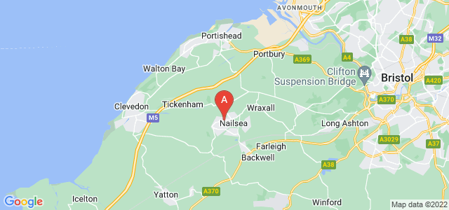 Google static map for Nailsea
