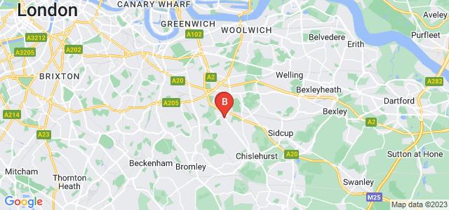 Google static map for Mottingham