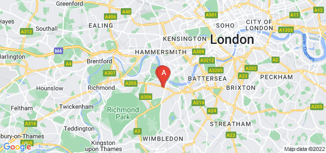 Google static map for Putney
