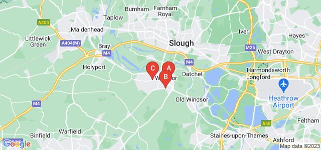 Google static map for Windsor