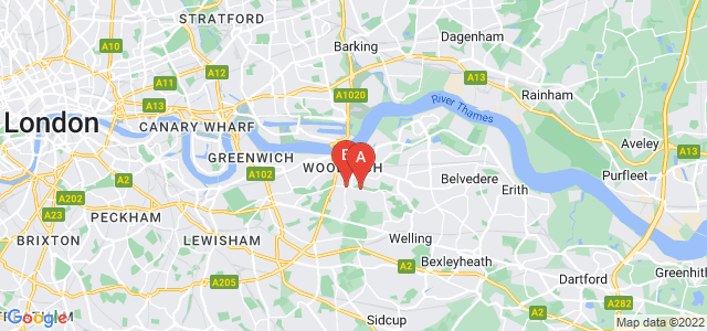 Google static map for Plumstead