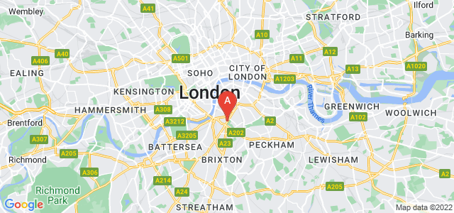 Google static map for Vauxhall