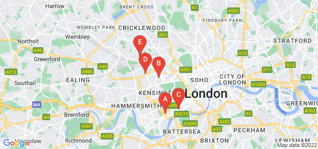Google static map for Kensington And Chelsea