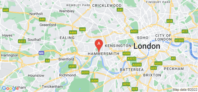 Google static map for Hammersmith And Fulham