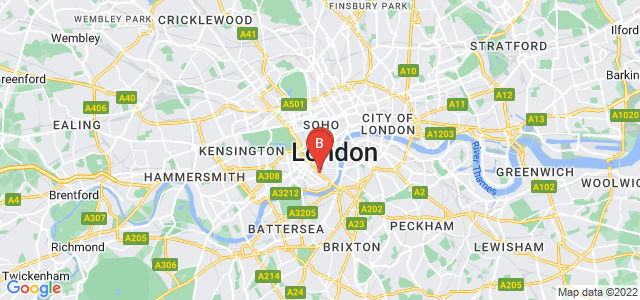 Google static map for Westminster