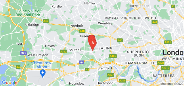 Google static map for Hanwell