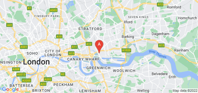 Google static map for Leamouth