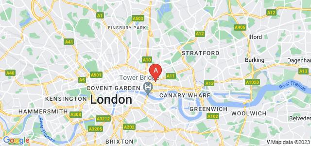 Google static map for Whitechapel