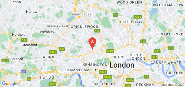 Google static map for Paddington