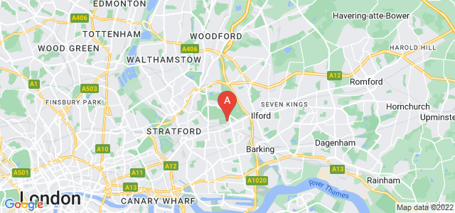 Google static map for Manor Park