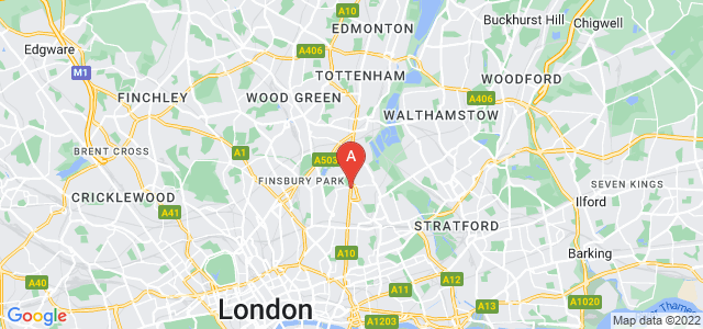 Google static map for Newington