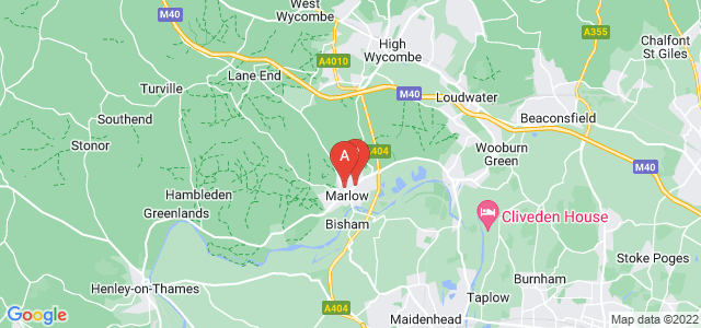 Google static map for Marlow