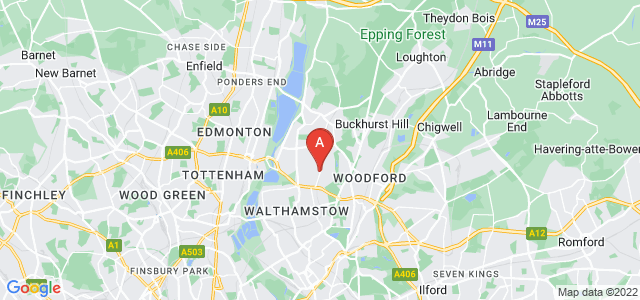 Google static map for Highams Park