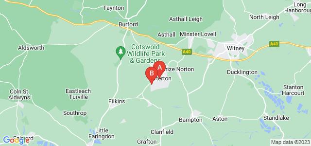 Google static map for Carterton