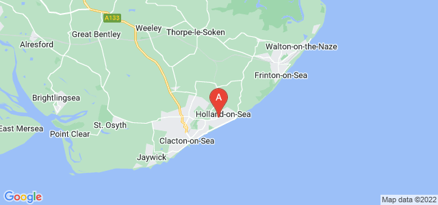Google static map for Holland On Sea