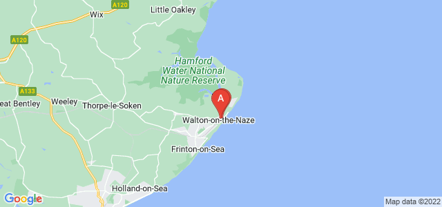 Google static map for Walton On The Naze