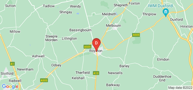 Google static map for Royston