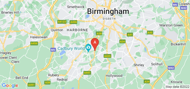 Google static map for Stirchley
