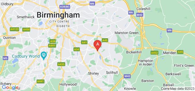 Google static map for Olton