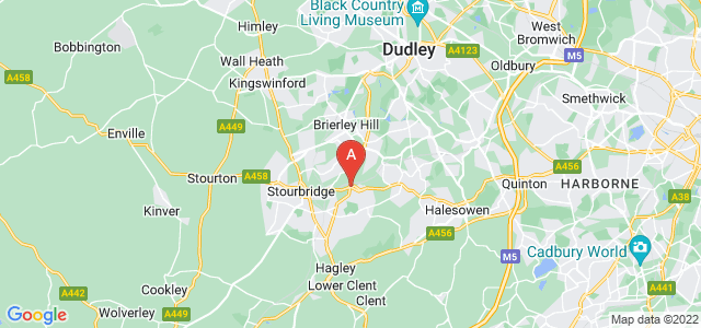 Google static map for Lye