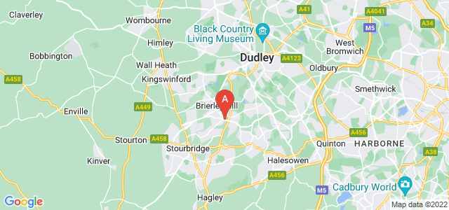Google static map for Brierley Hill