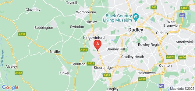 Google static map for Wordsley