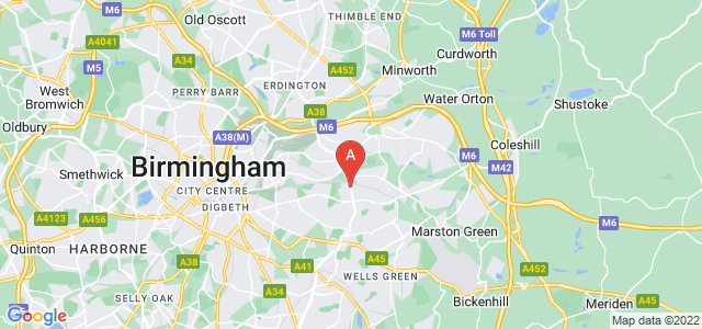 Google static map for Stechford
