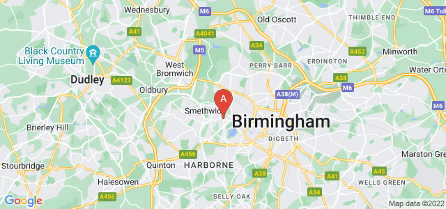 Google static map for Edgbaston