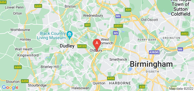 Google static map for Oldbury