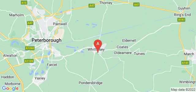 Google static map for Whittlesey
