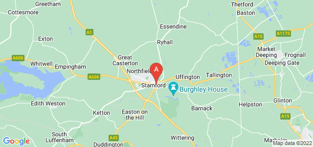 Google static map for Stamford