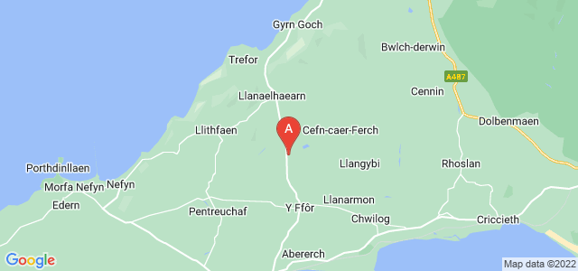 Google static map for Barmouth