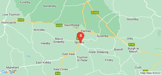 Google static map for Spilsby