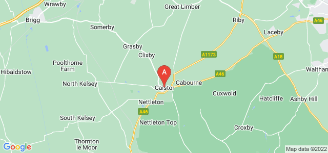 Google static map for Caistor