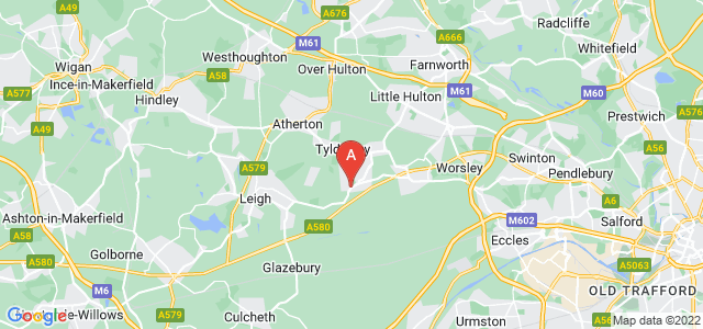 Google static map for Astley