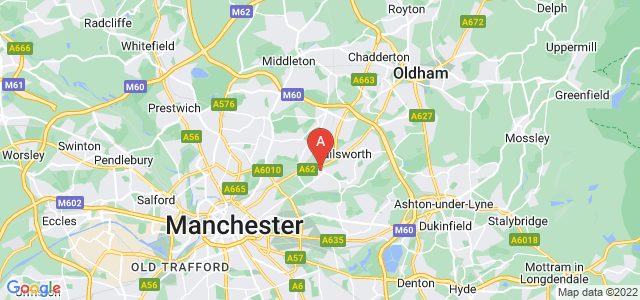 Google static map for Newton Heath