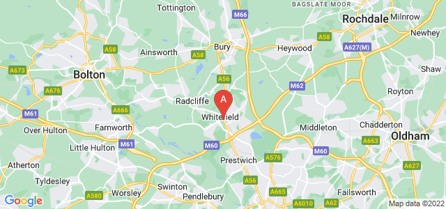 Google static map for Whitefield