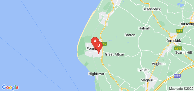 Google static map for Formby